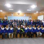 Foto bersama Peserta, Panitia, dan Pemateri Enterpreneur Class DD Sumsel