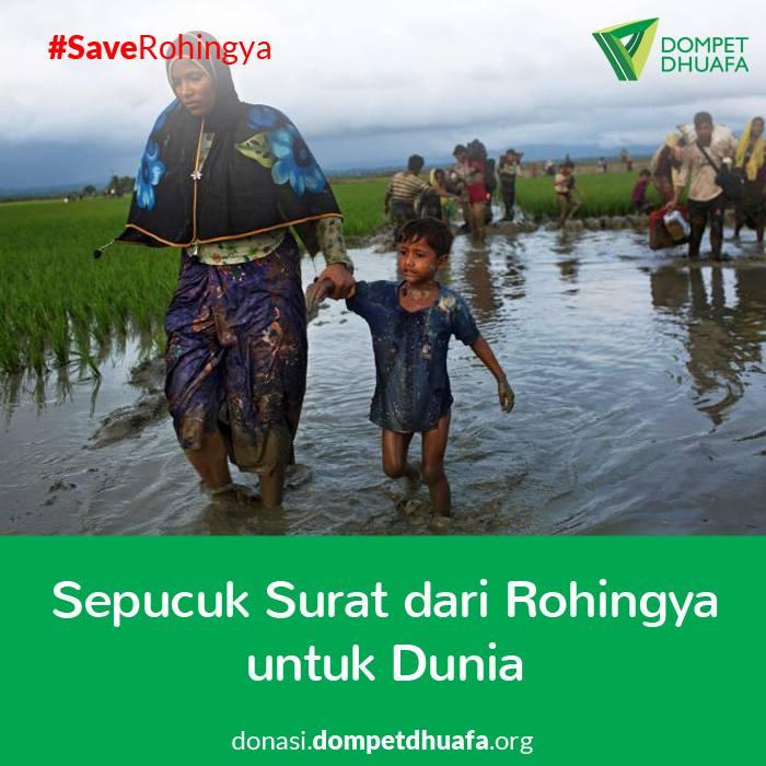 Sepucuk Surat dari Rohingya untuk Dunia
