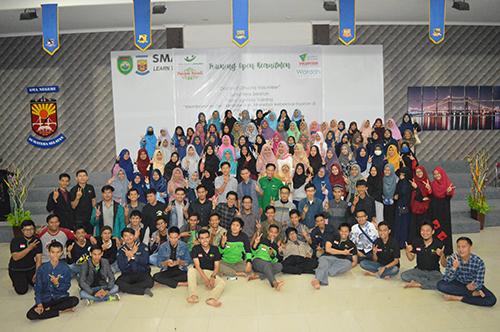 Foto bersama panitia dan peserta DDV Sumsel angkatan ke-4
