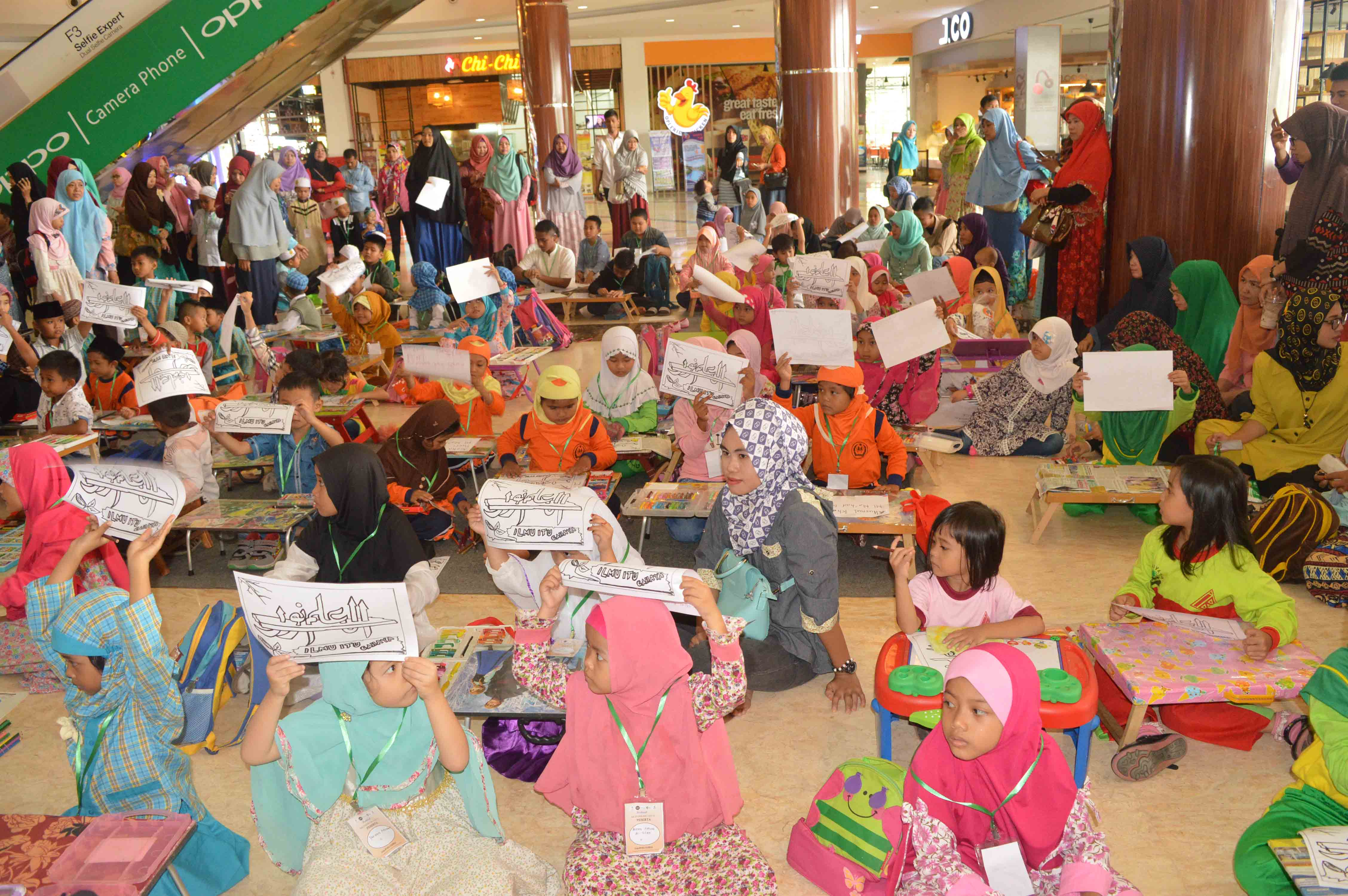 Suasana Festival Muharram di OPI Mall bersama DD Sumsel, Sabtu (23/9)