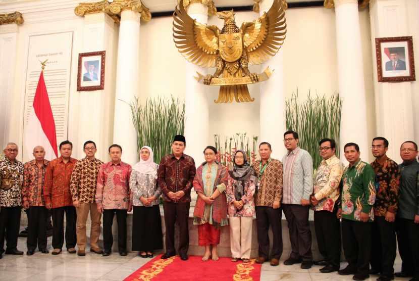 Peluncuran AKIM (Aliansi Kemanusian Indonesia untuk Myanmar)