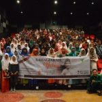 suasana nobar film Duka Sedalam Cinta bersama 190 anak yatim dan dhuafa di Cinemax Palembang Icon (23/10)
