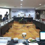 Suasana Launching  Majelis Dewan Pengawas Syariah (MDPS). Senin, (6/11)