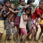 Anak-anak Rohingya di Coxs Bazar/ Reuters