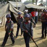Ilustrasi patroli Tentara Myanmar di pengungsian Rohingya di Rakhine/ VOA