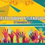 Rayakan Hari Relawan Internasional bersama DDv Sumsel