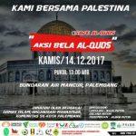 Seruan Aksi Bela palestina