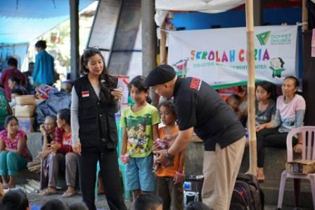 Suasana Sekolah Ceria Bersama Dompet Dhuafa