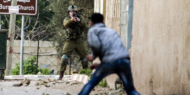 Ilustrasi Tentara Israel tembak seorang warga Palestina dalam bentrokan/ AFP
