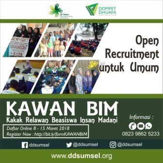Rekrutmen KAWAN BIM