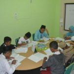 Situasi tes psikotes dan wawancara SEI dan ETS di Kantor DD Sumsel (25/3)