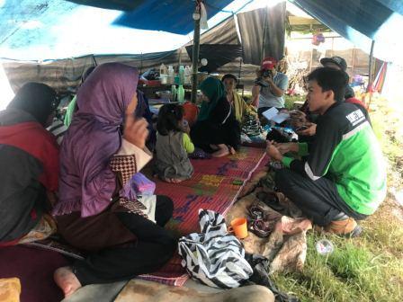 DMC Respon gempa Banjarnegara