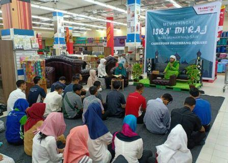 Isra Miraj bersama DD Sumsel dan Transmart Palembang