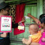 osialisasi TB, ketuk pintu 1000 KK di Kel. 7 Ulu Palembang (30/3)