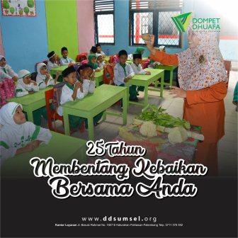 program pendidikan DD Sumsel