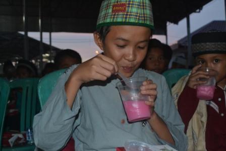 DD Sumsel bukber bersama 200 anak yatim dhuafa, Minggu (3/6)